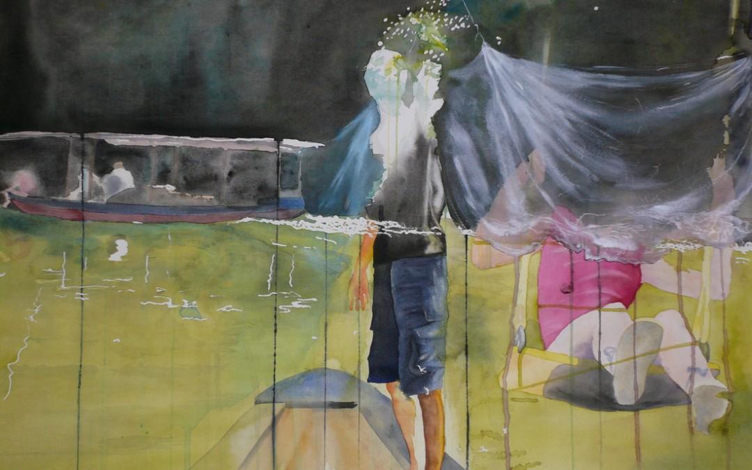 Aquarelle sur papier - mars 2007