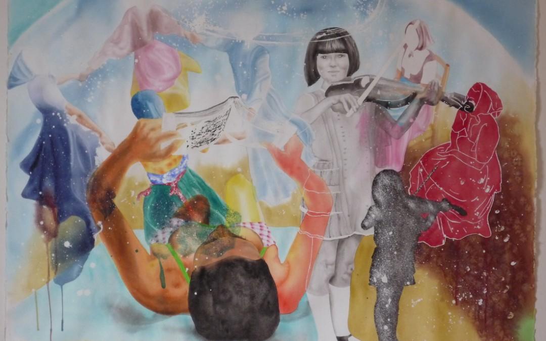 Aquarelle sur papier - juillet 2008