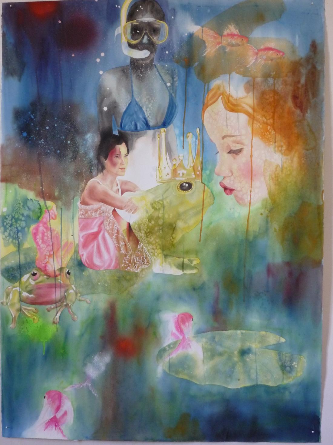 Aquarelle sur papier - mai 2008