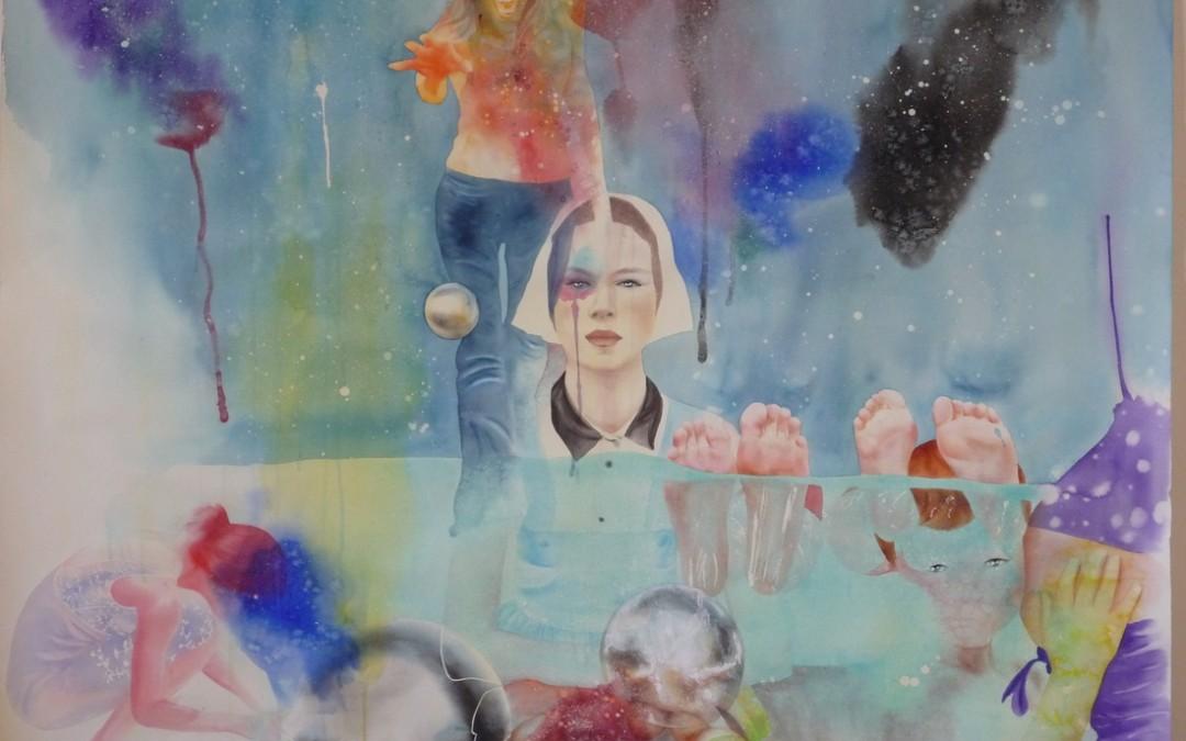 Aquarelle sur papier - septembre 2008