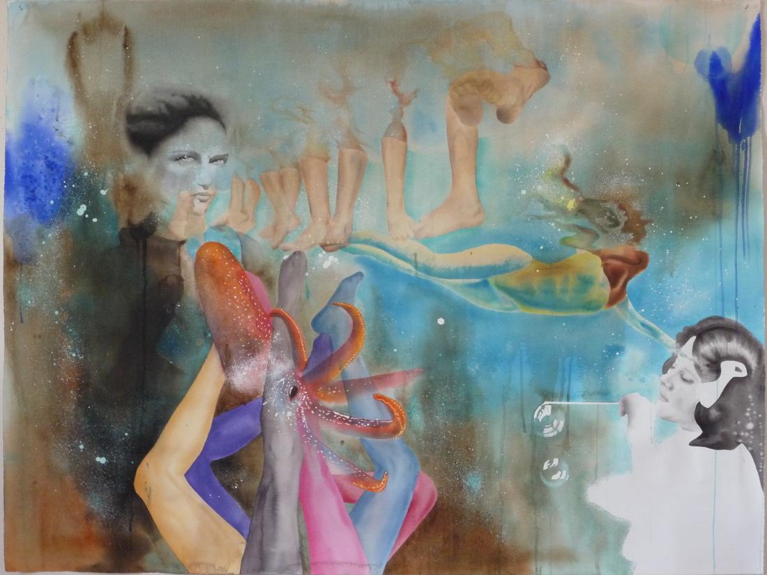 Aquarelle sur papier - mars 2009