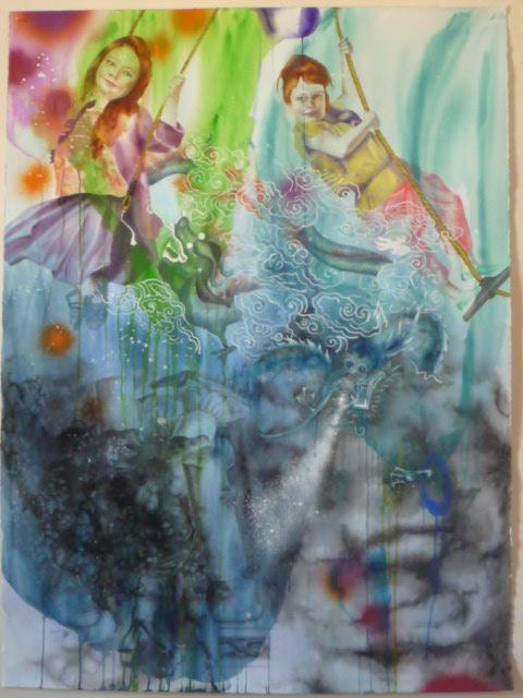 Aquarelle sur papier - 29 mai 2010
