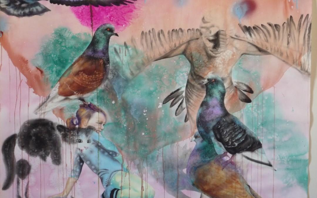Aquarelle sur papier - 25 octobre 2011