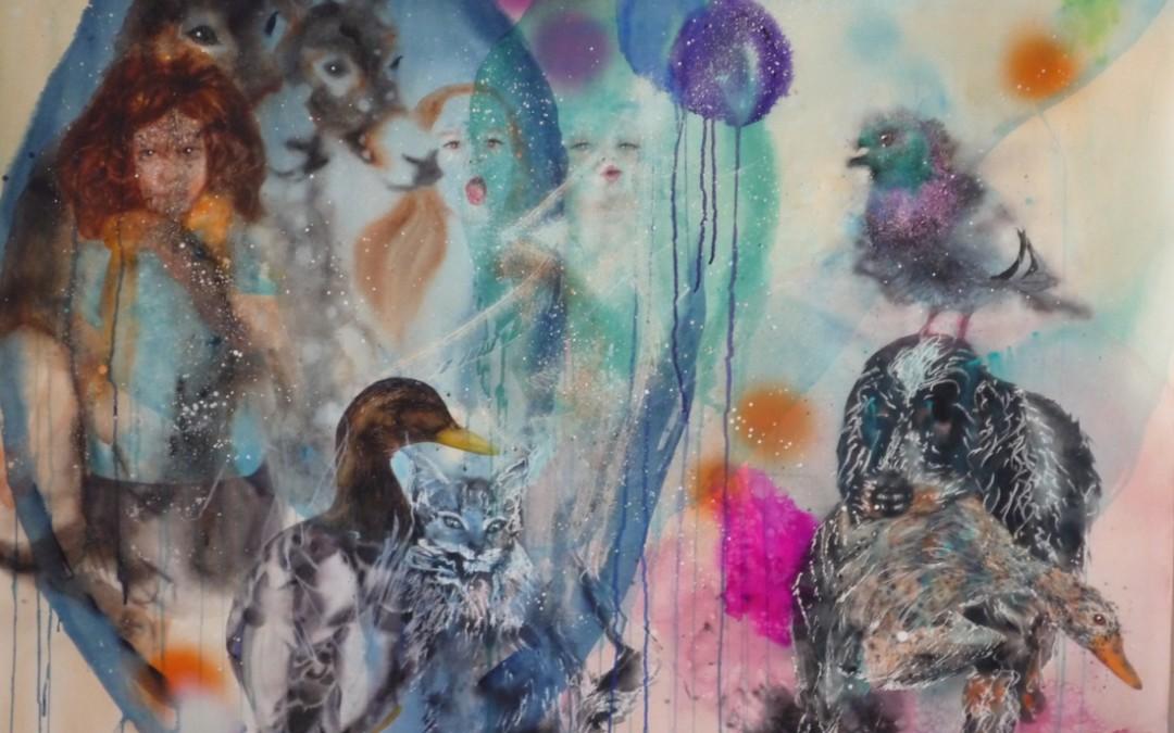 Aquarelle sur papier - 28 décembre 2011