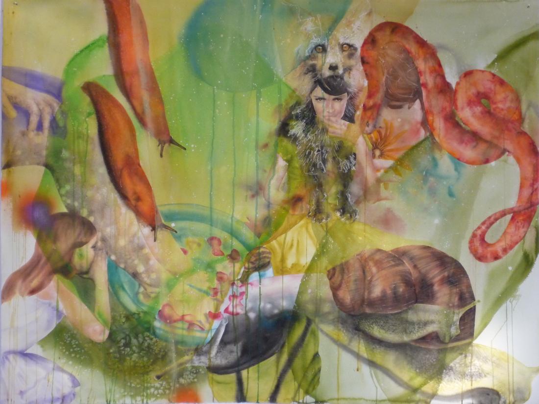 Aquarelle sur papier - 12 décembre 2012