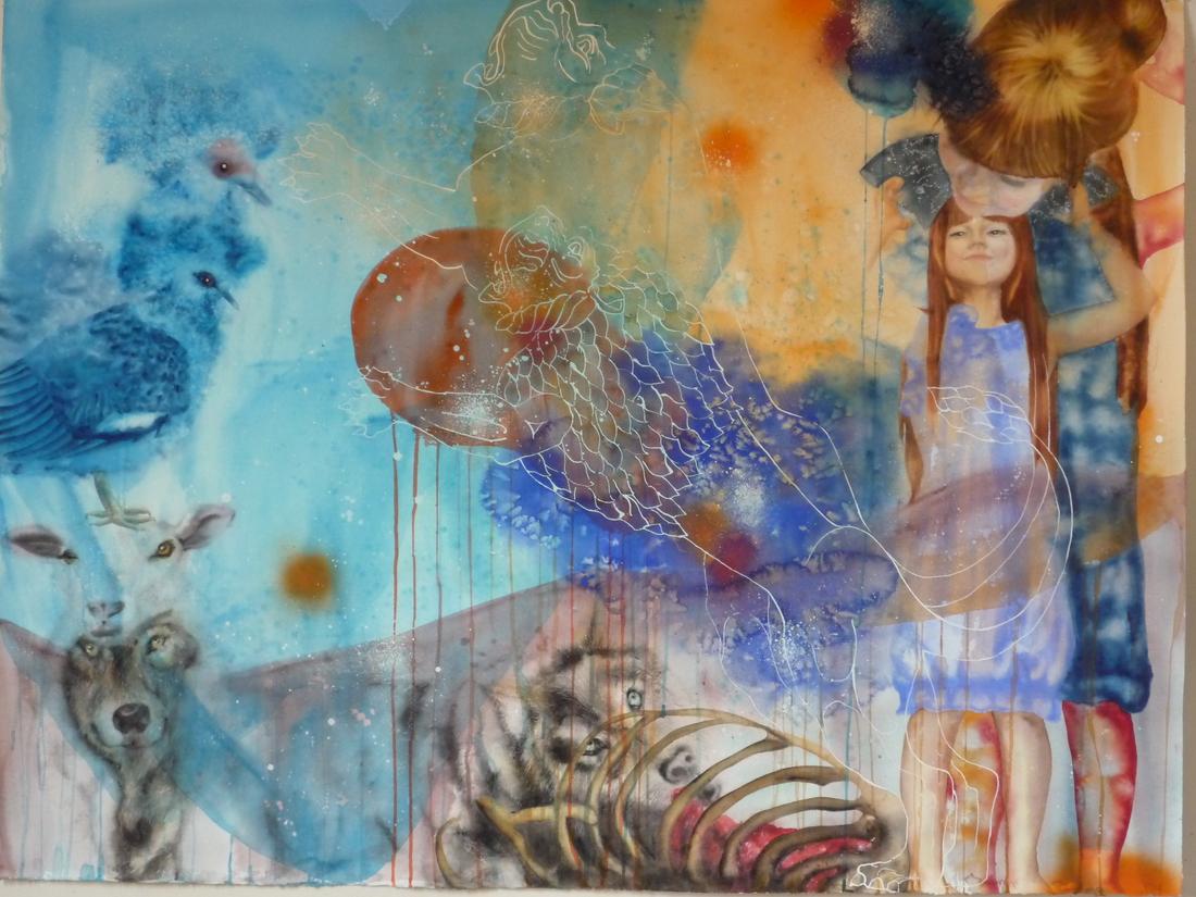 Aquarelle sur papier - 12 juin 2012