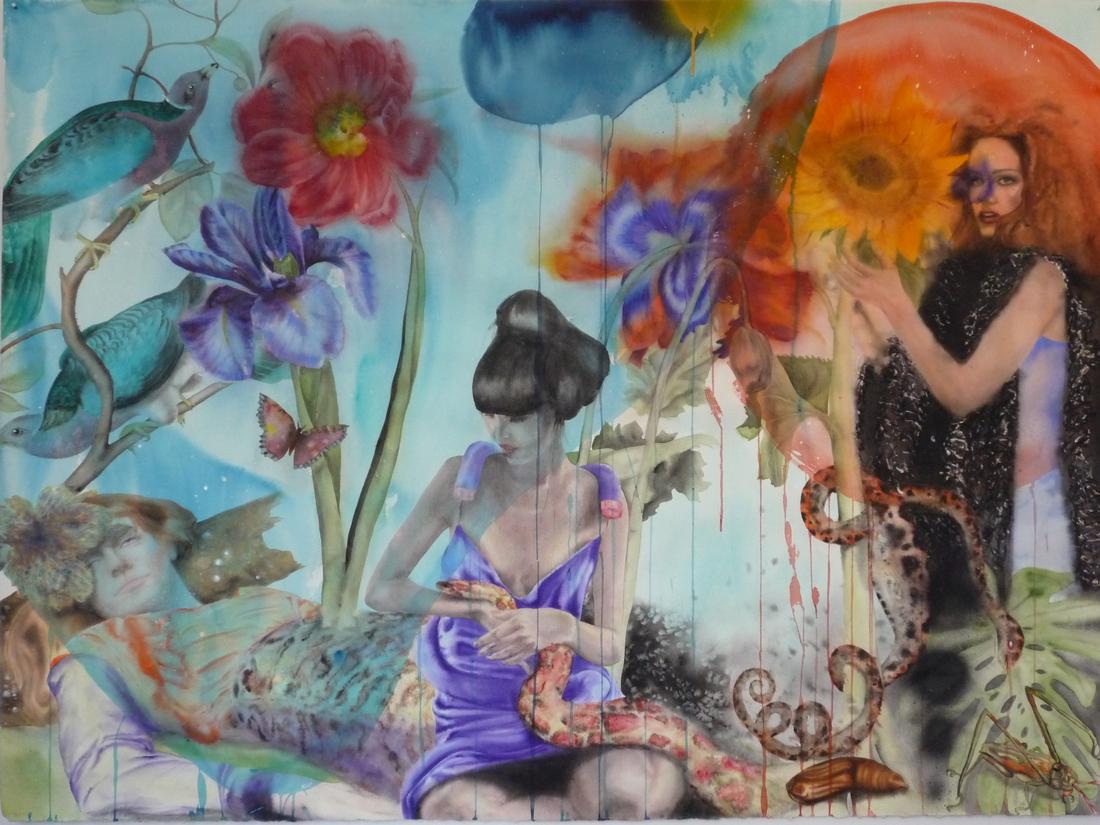 Aquarelle sur papier - 16 septembre 2012