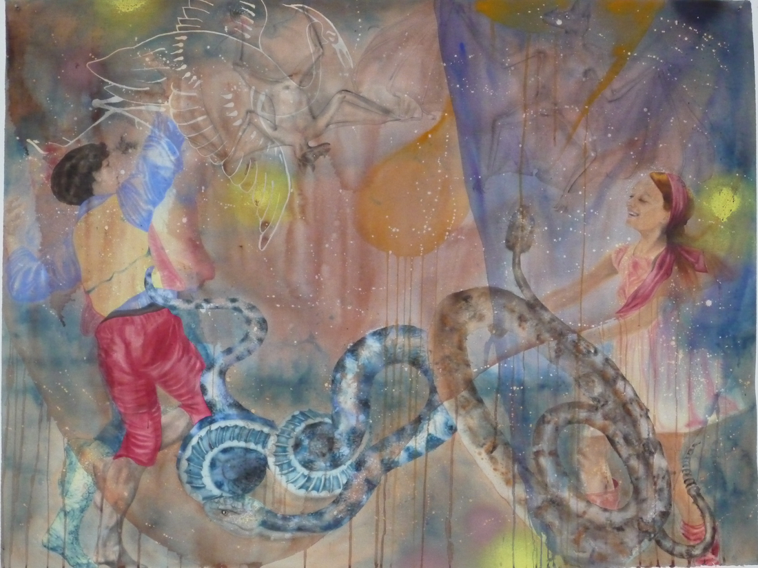 Aquarelle sur papier - 27 février 2013